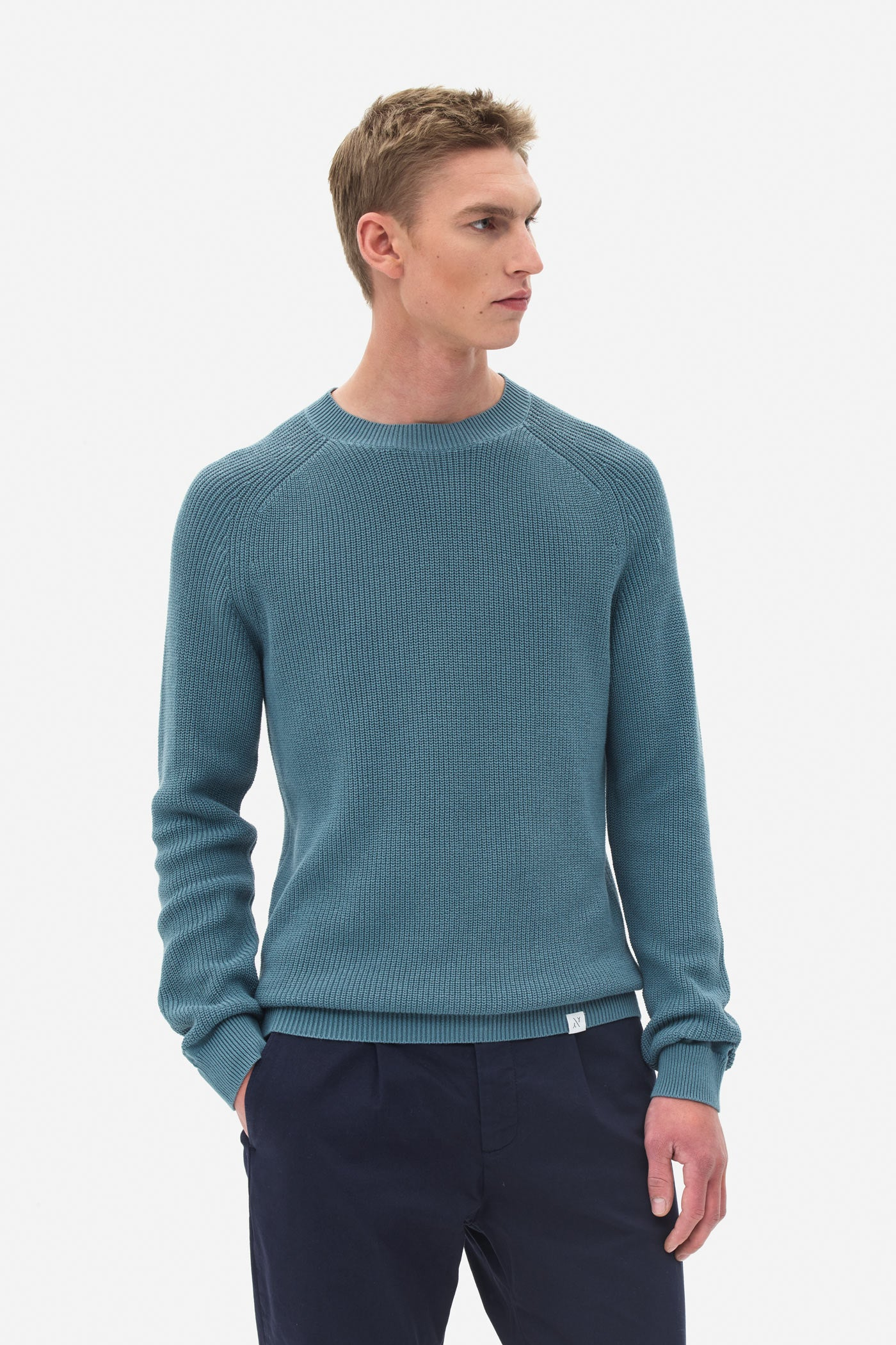 Raglan Sweater light atlantic
