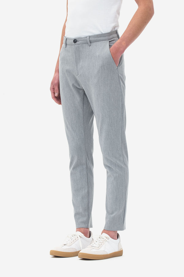 Slim Fit Pants grey melange