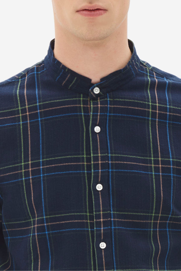 Grandad Check Shirt