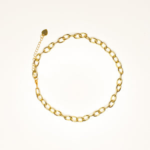 The Catalina Gold Link Necklace