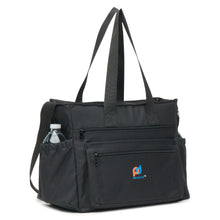 Load image into Gallery viewer, Extra Large Lunch Bag 6 External Pockets (13.5x10.5x7 Inches) Thick Foam Insulation Strong Zippers