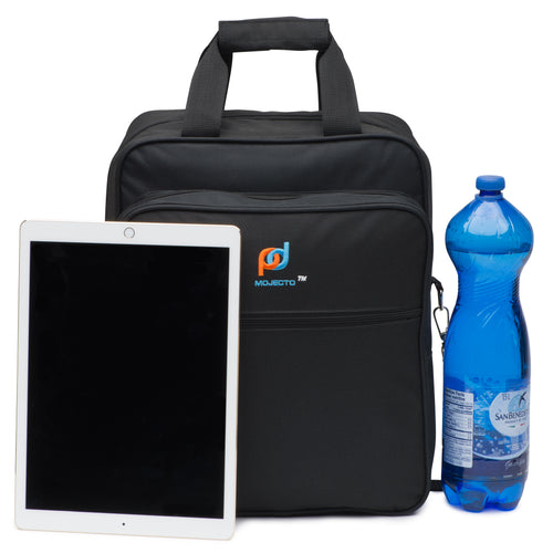 Large Lunch Cooler Bag For Office (14.5x12x6 Inc). Carry Food, Paperwork, Laptop And Office files