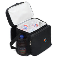 Load image into Gallery viewer, Hard Liner Two Compartment Cooler Lunch Bag With Removable Leakproof Plastic Bucket (11x12x8 Inch)