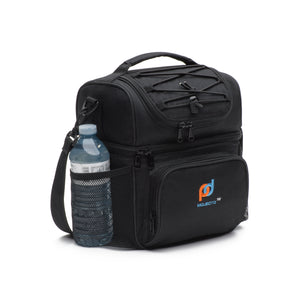 Small Hard Liner Cooler Lunch Bag with Leakproof Hard Liner Removable Bucket (8.5x6.3x10 Inches)