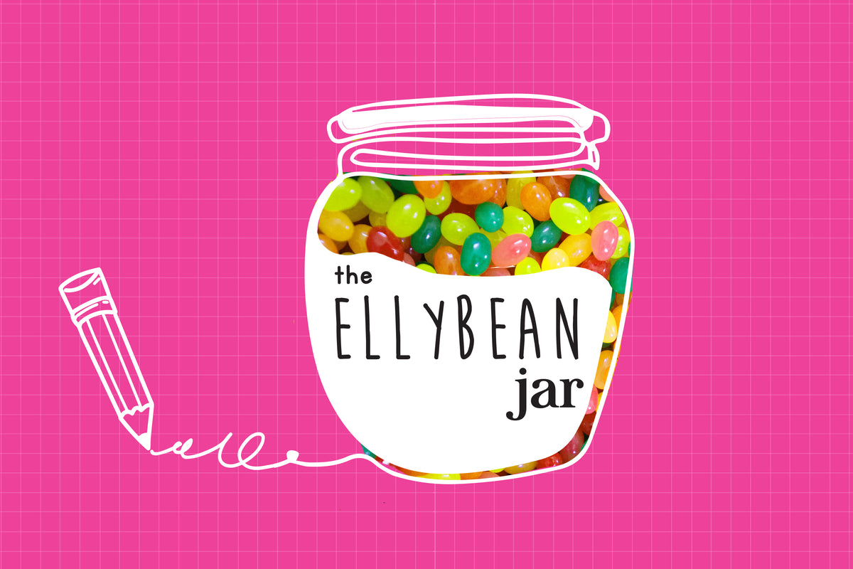 The First Bite from the Ellybean Jar