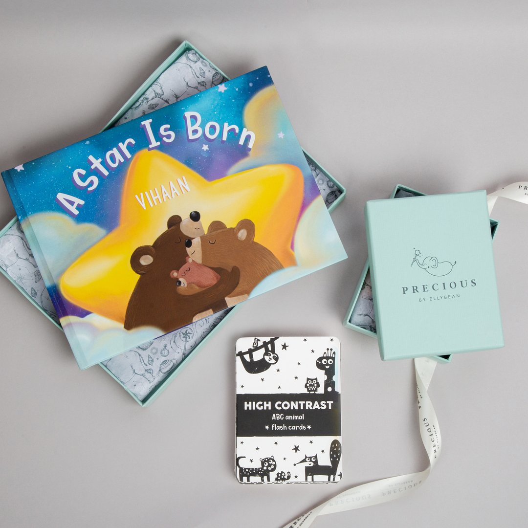 build your own gift set of 2, newborn gift set