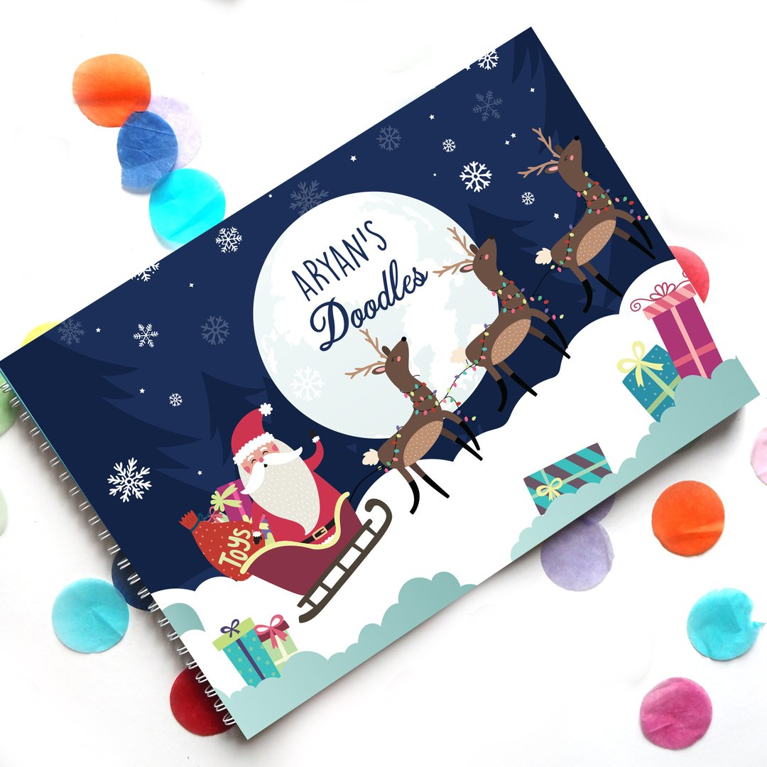 Personalised Doodle Book for Kids