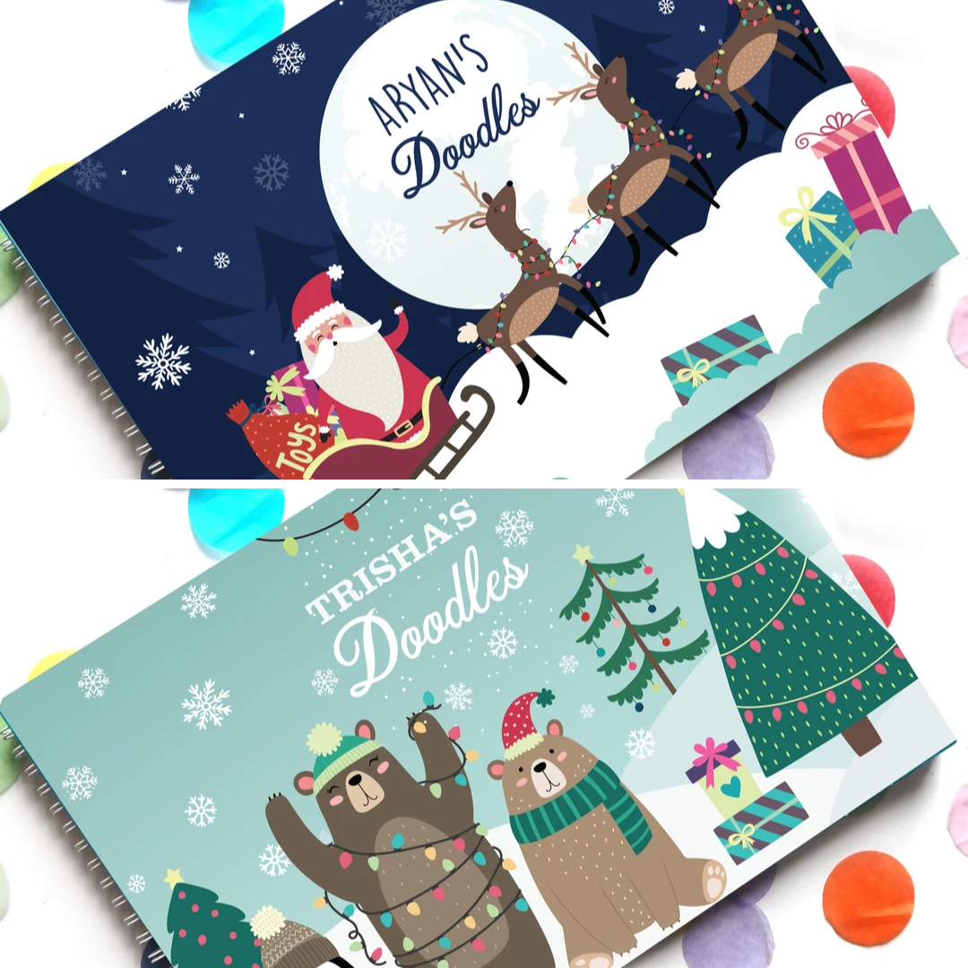 Personalised Doodle Books for Kids