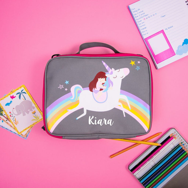 Unicorn & Rainbows Bag - Ellybean Designs India