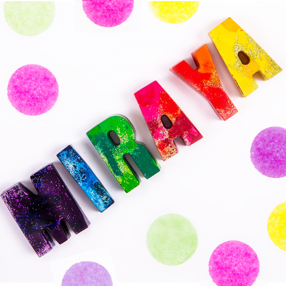 Personalised Name Crayons - Ellybean Designs India