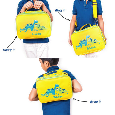 Dino-packed Bag - Ellybean Designs India