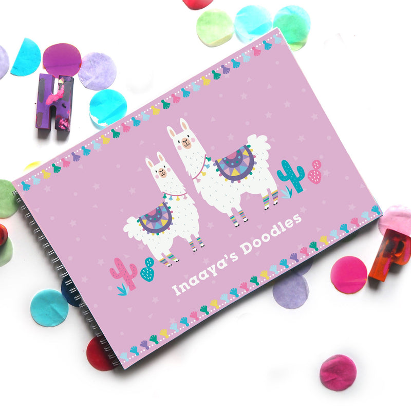 LLamazing Doodle Book - Ellybean Designs India