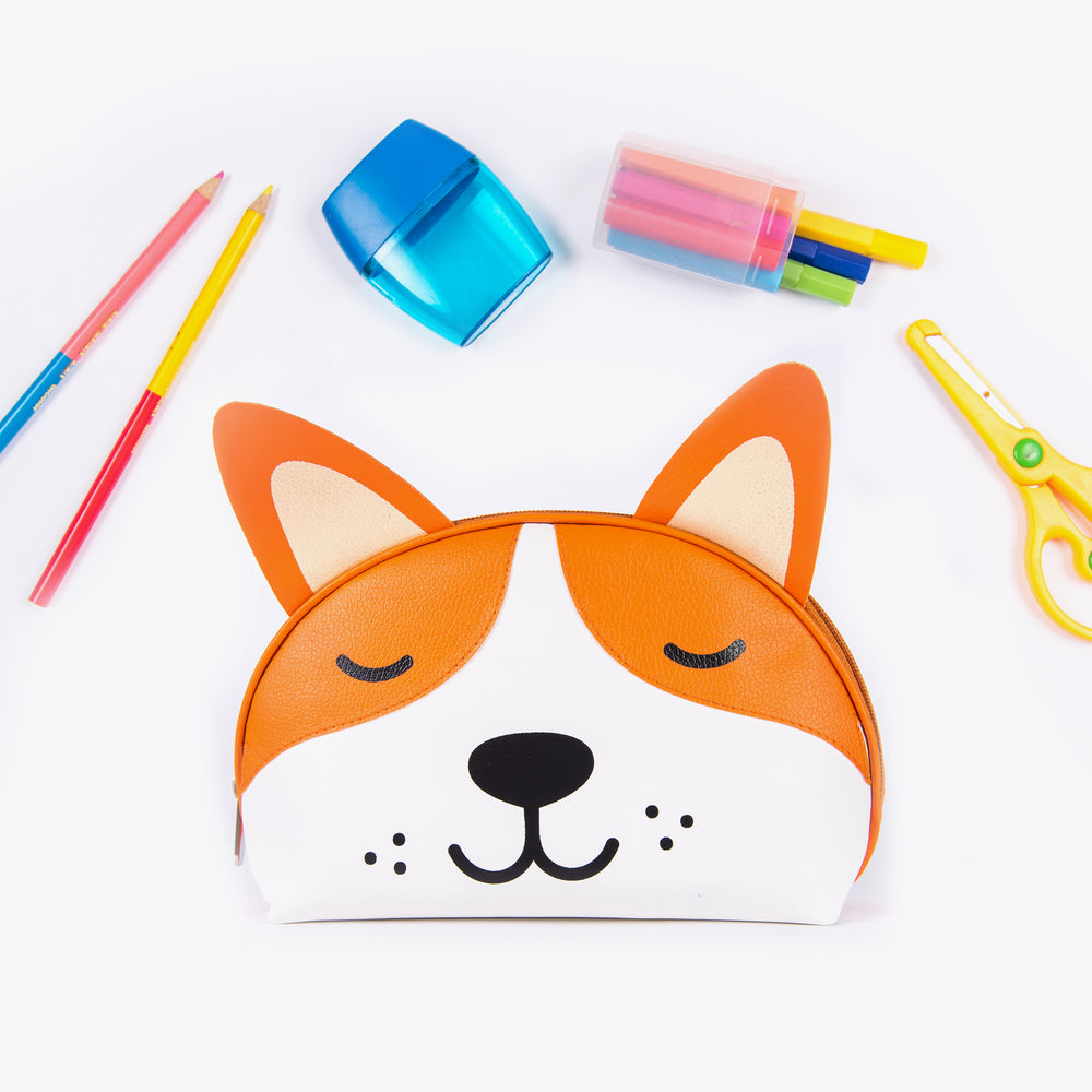 I'm Pawsitive: Utility Pouch - Ellybean Designs India