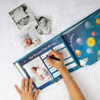 My Precious Firsts Gift Set: A Star Is Born - Ellybean Designs India
