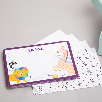 Wild About You: Personalized Stationery - Ellybean Designs India