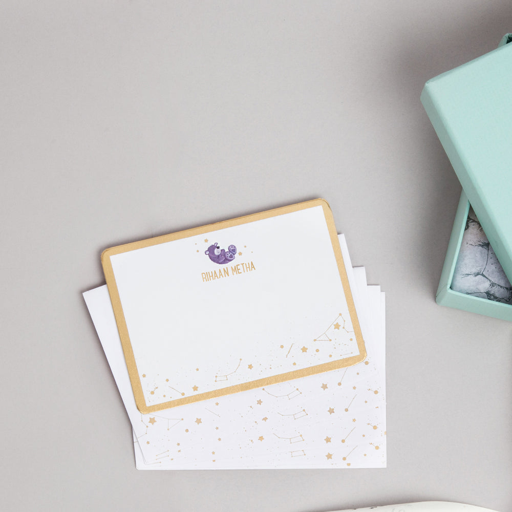 A Star is Born: Personalized Stationery - Ellybean Designs India