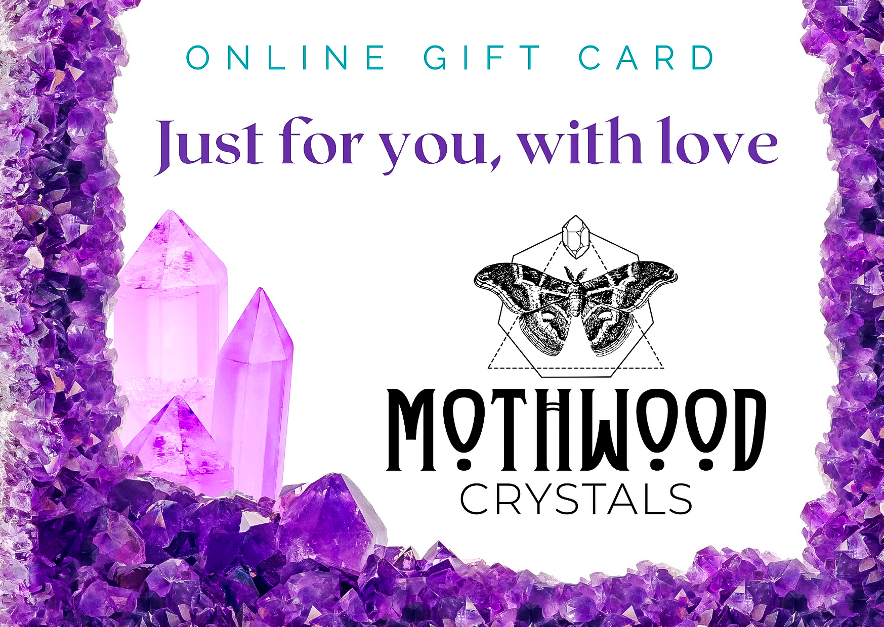 MothWood Crystals E-Gift Cards
