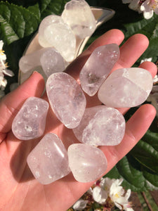 Clear Quartz Crystal Tumblestones