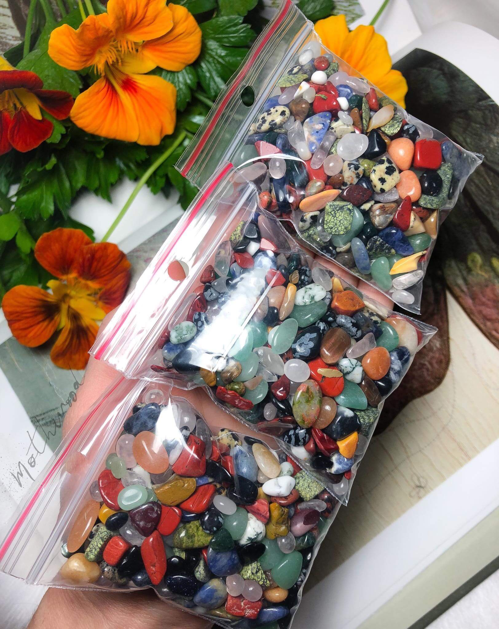 Mixed Crystal Mini Tumbles Pack 100g