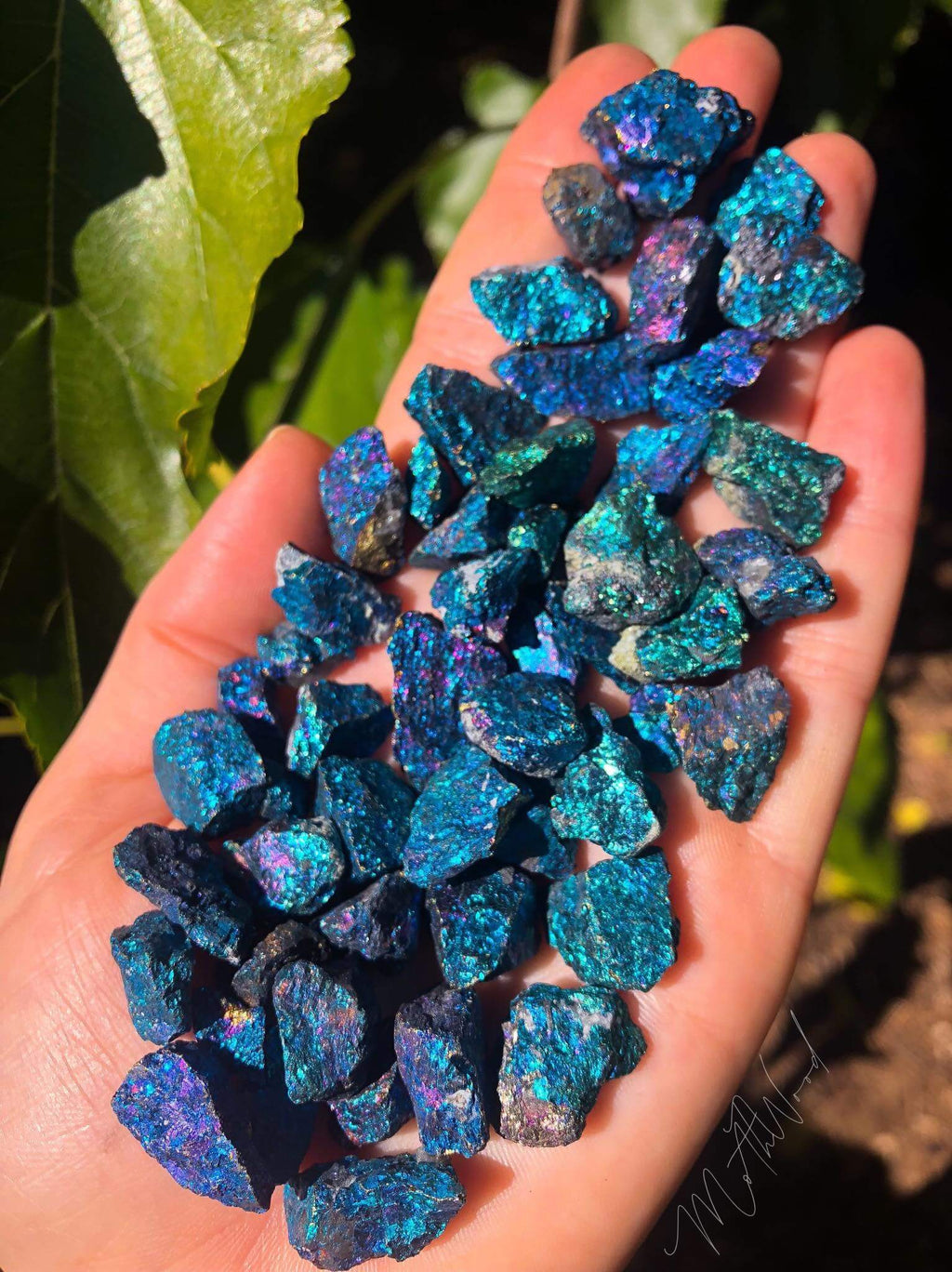 Peacock Ore / Bornite Crystals Pack 100g