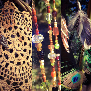 Ethical Crystal Dreamcatcher Art
