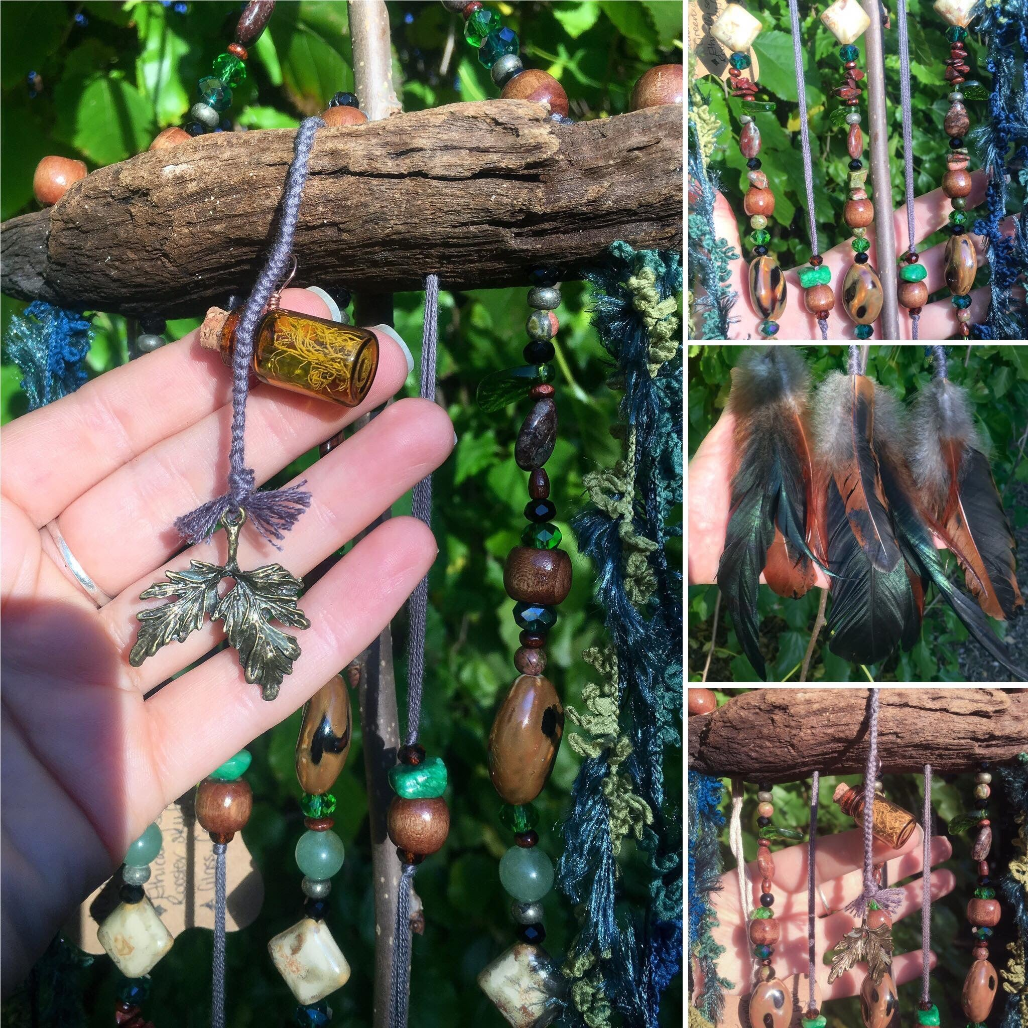 CONTACT US TO ORDER  Ethical Crystal Dreamcatcher Art
