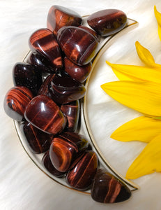 Red Tiger Eye Tumblestones