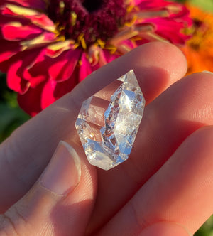Large Herkimer Diamond with 'Key' (A)