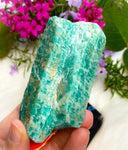 Amazonite Raw Crystal Stone