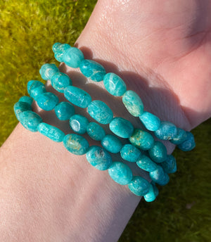 Amazonite Crystal Bracelets