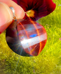Red Tigerseye Crystal Pendant