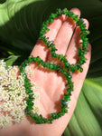 Green Diopside Crystal Chip Bracelet