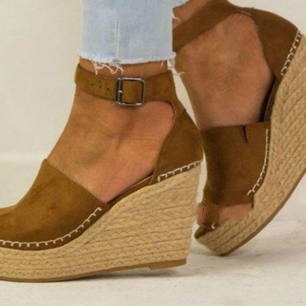 Daily wedge mid-heel Sandals