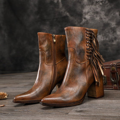 Daily Tassel Winter Boots