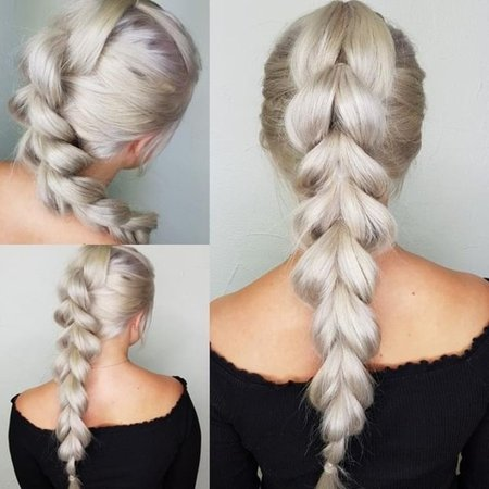 Ice Blond Extensions