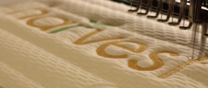 Harvest Green Mattress Embroidering Video