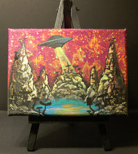 Load image into Gallery viewer, UFO UV Mini Canvas