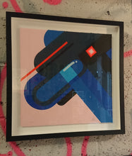 Load image into Gallery viewer, Limited edition Florence Blanchard Framed 8 colour screen print, Strawberry Thief