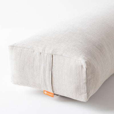 Bolster rectangulaire 100% Lin Limited - HALFMOON