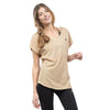 Tee shirt en coton Bio ASANA VEGETAL COFFEE Yoga Feel Green