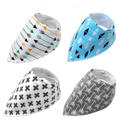 4pcs/lot Dog Bandana