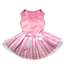 Load image into Gallery viewer, Dog Bow Tutu Dress