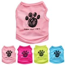Load image into Gallery viewer, Spring/Summer Paw Dog T-shirt