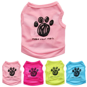 Spring/Summer Paw Dog T-shirt