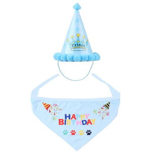 Birthday Cap Hat Set