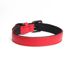 Real Leather Dog Collar