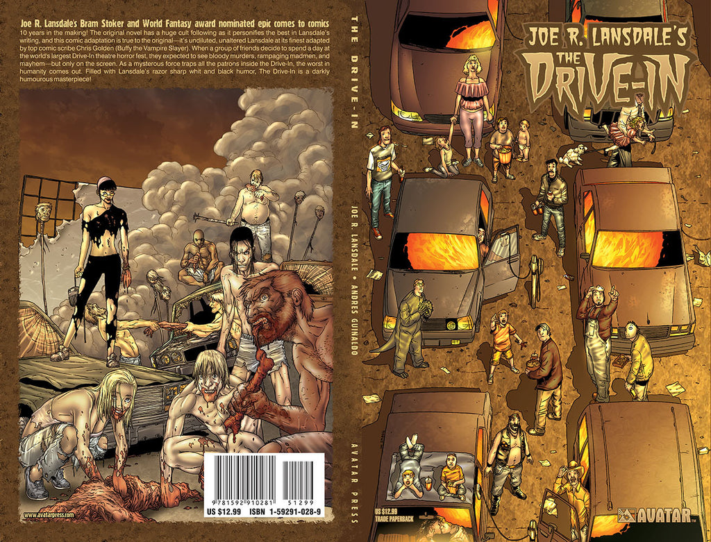 Joe R. Lansdale's THE DRIVE-IN TPB