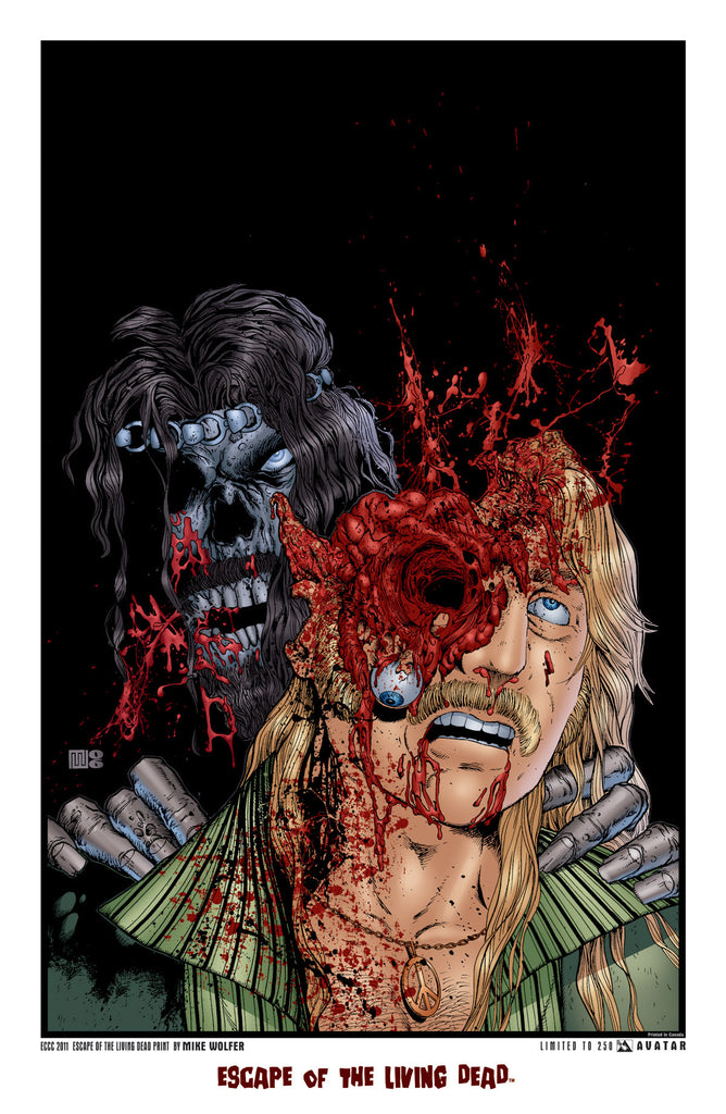 Escape of the Living Dead ECCC 2011 Print