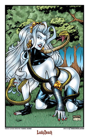 Lady Death: Serpents Phoenix 2011 Print
