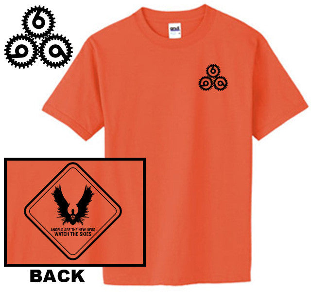 Doktor Sleepless Angel Warning Sign & Grinder T-Shirt - Size XXL